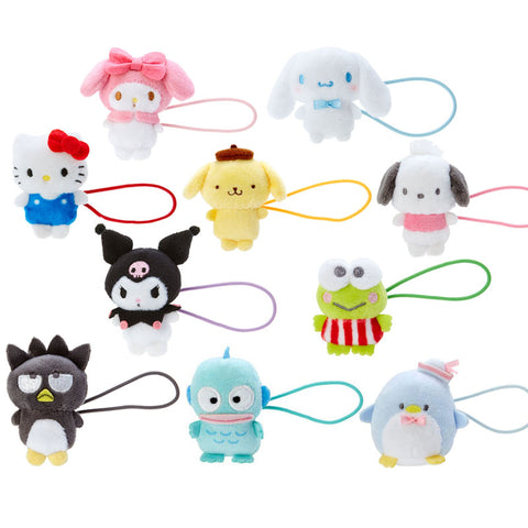 Sanrio Character Plush Mascot Ponytail Holder