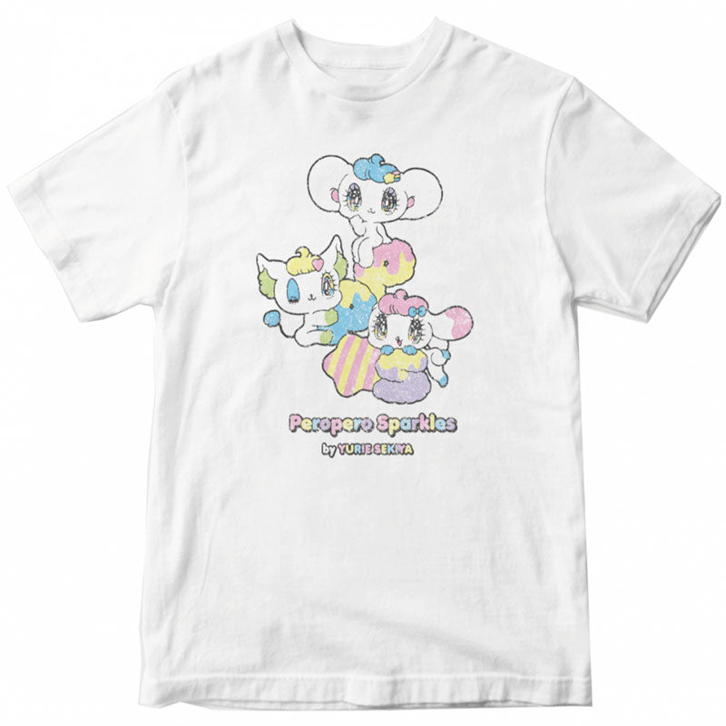 Peropero Sparkles Japan White Tee