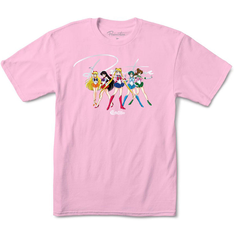 Primitive x Sailor Moon Pink Ginza Scout Women's Tee