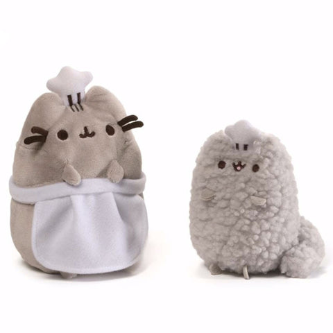Pusheen & Stormy Chef Plush Set
