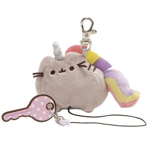 Pusheenicorn Retractable Key Holder