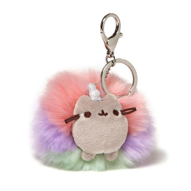 Pusheenicorn Poof Keychain