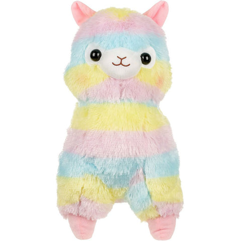 Rainbow Alpaca Large Plush