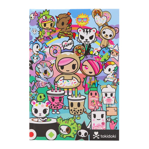 tokidoki Rainbow Friends Notebook