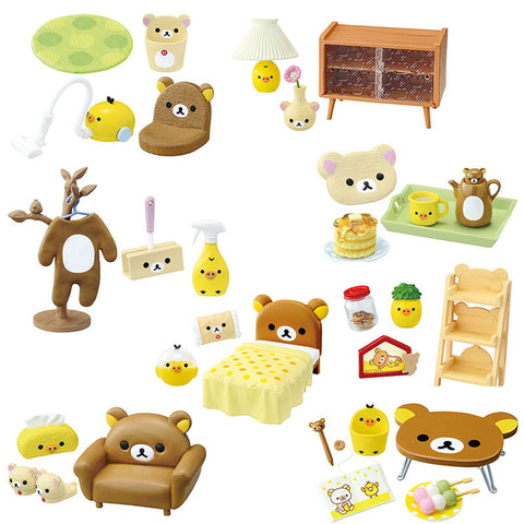 Rilakkuma Room Re-Ment Blindbox