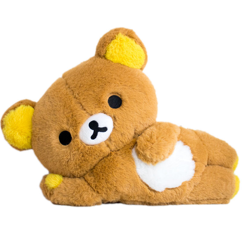 Rilakkuma Fuzzy Laying Down Plush USA