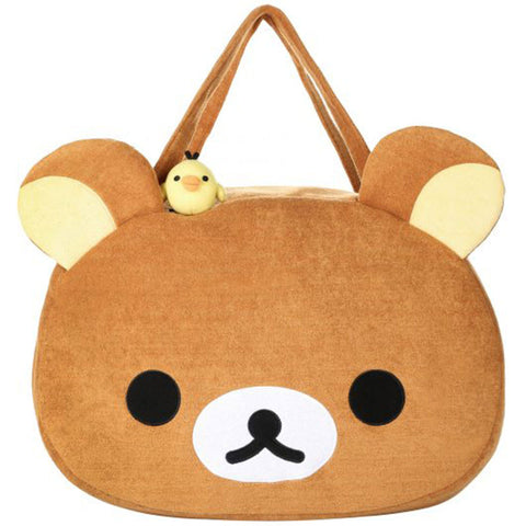 Rilakkuma Plush Face Shoulder Bag