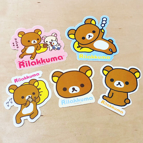 Rilakkuma Large Sticker
