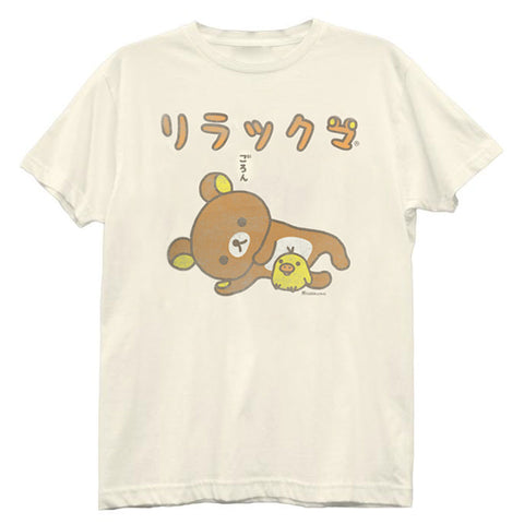 Rilakkuma Bear and Chick Tee