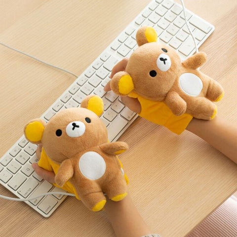 Rilakkuma Heated Hand Warmers