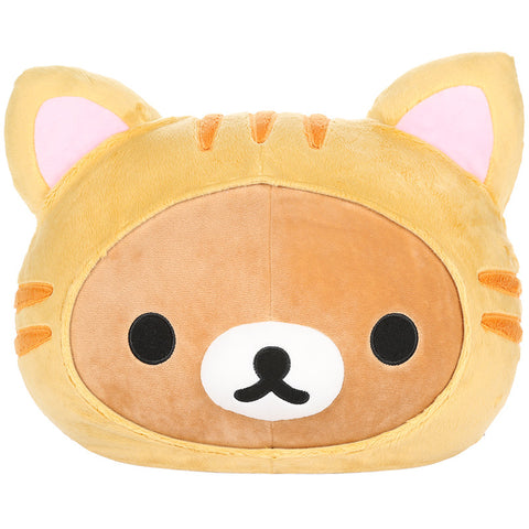 Rilakkuma Tiger Head Pillow