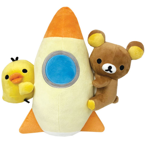 Rilakkuma Space Rocket Plush