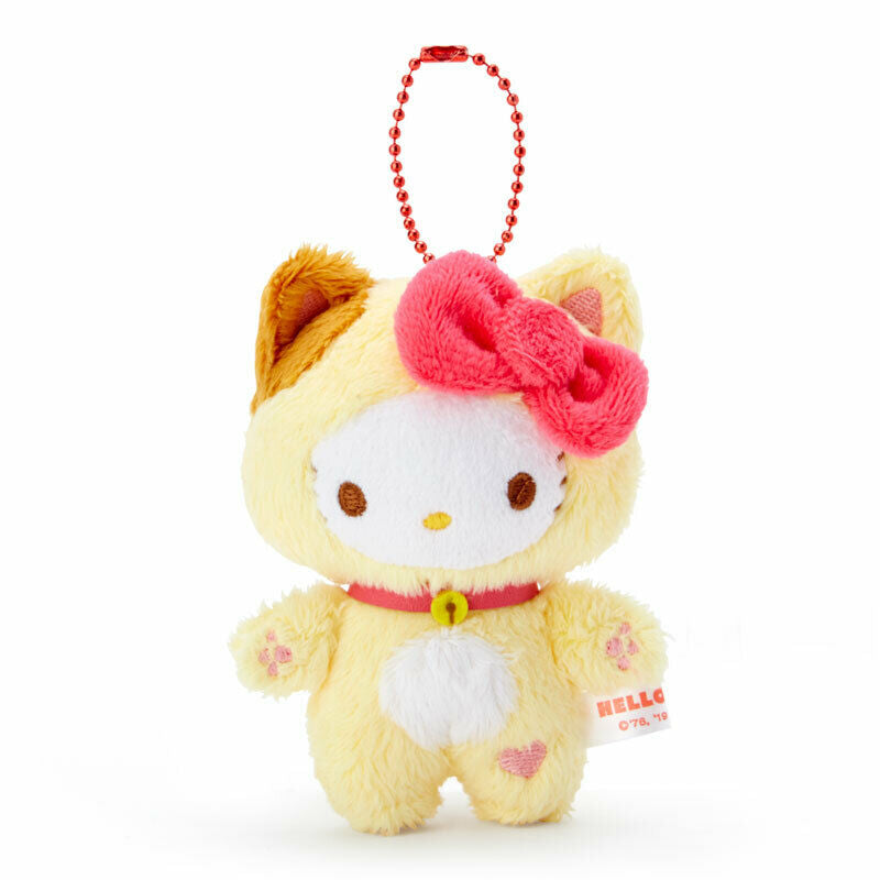 Hello Kitty Happy Cat Mascot Plush Charm