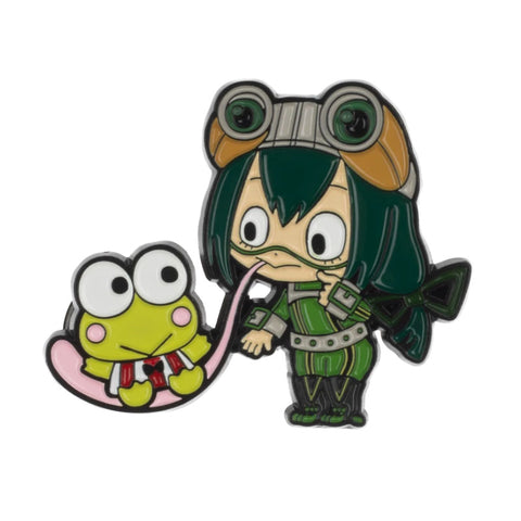Froppy x Keroppi Enamel Pin Set