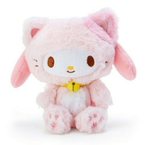 My Melody Happy Cat Standing Plush
