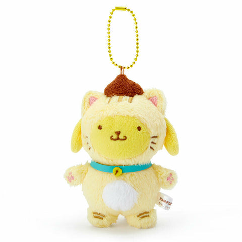 Pom Pom Purin Happy Cat Mascot Plush Charm