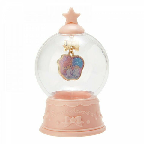 Little Twin Stars Necklace Charm in Globe