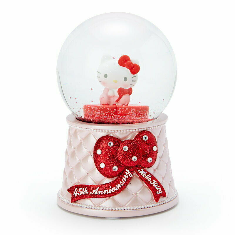 Hello Kitty 45th Anniversary Snow Globe