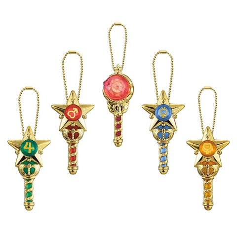 Sailor Moon Prism Crystal Wand Keychain Capsule