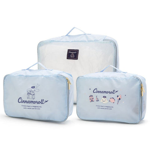 Cinnamoroll Travel 3-Piece Inner Case Set
