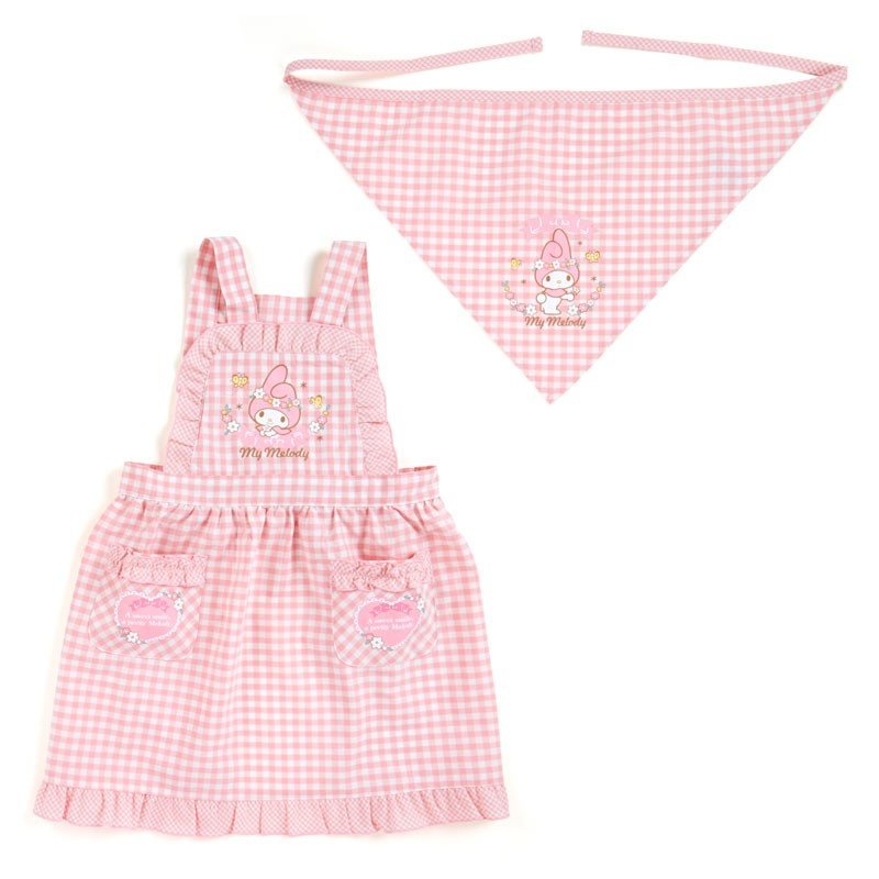 My Melody Frill Kids Apron Set