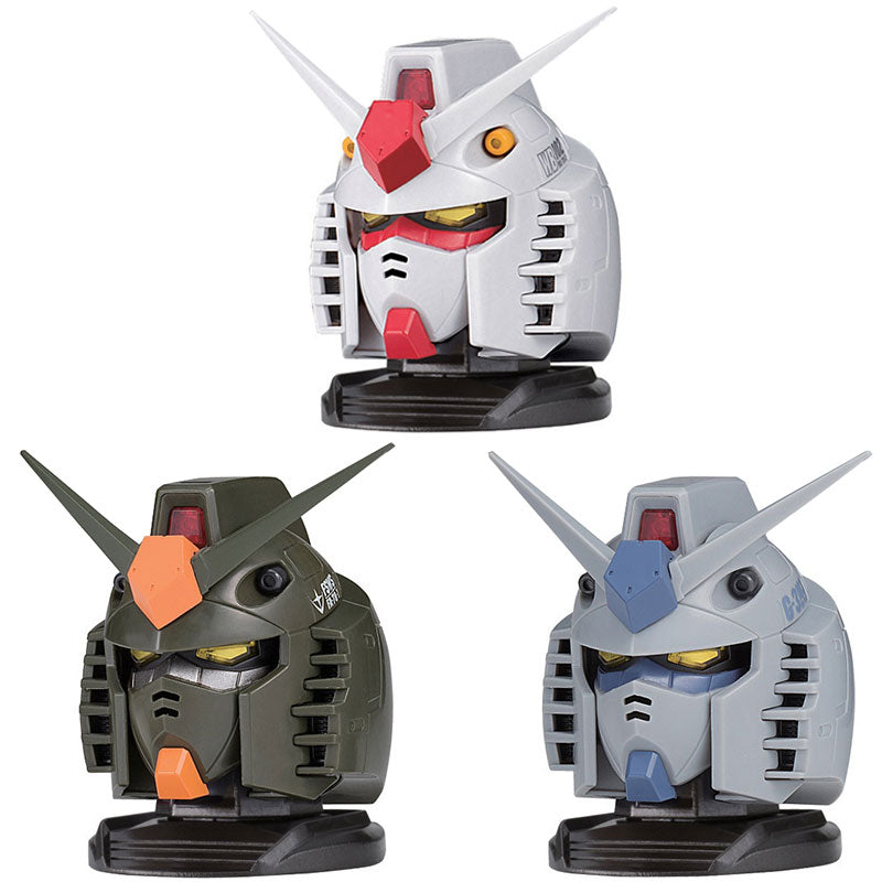 Gundam Head Buildable Capsule Figure