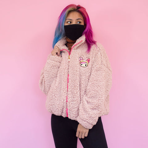 Donutella Sherpa Jacket