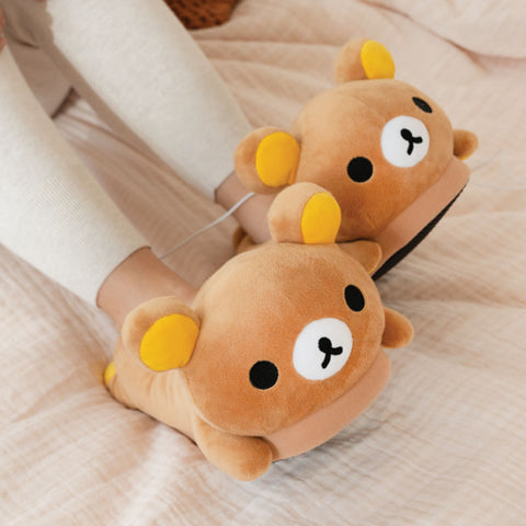 Rilakkuma USB Heated Slippers