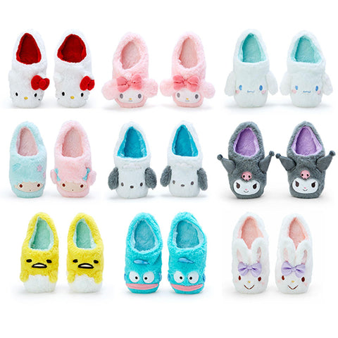 Sanrio Character Boa Room Slippers
