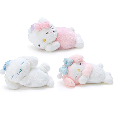Sanrio Small Fuzzy Sleeping Warmer Plush