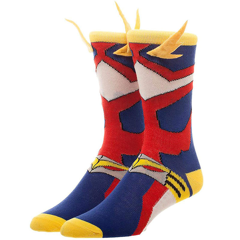 All Might Crew Socks