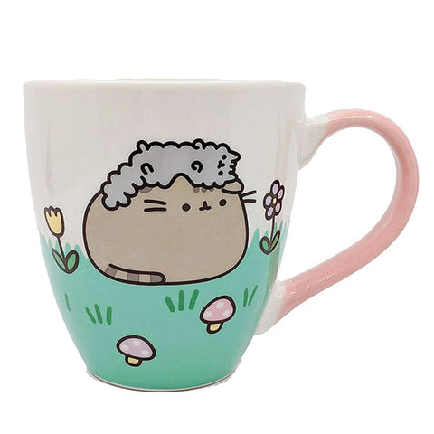 Pusheen and Stormy Springtime Mug