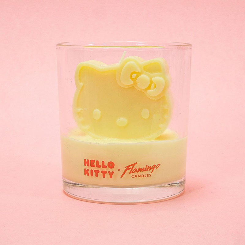Hello Kitty x Flamingo Sugar Berry 3D Candle