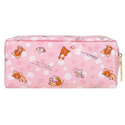 Rilakkuma Tiger Pink Pencil Pouch