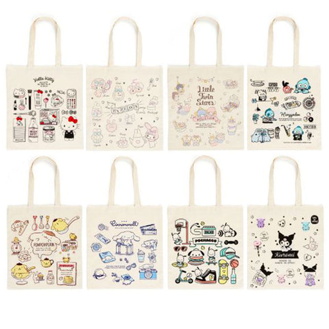 Sanrio Character Cotton Tote Bag