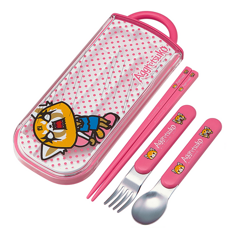 Aggretsuko Utensil Set