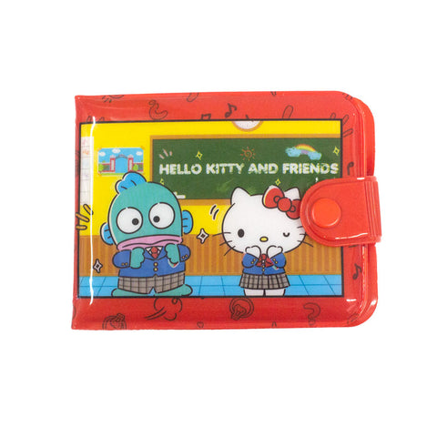 Sanrio School Day Vinyl Wallet