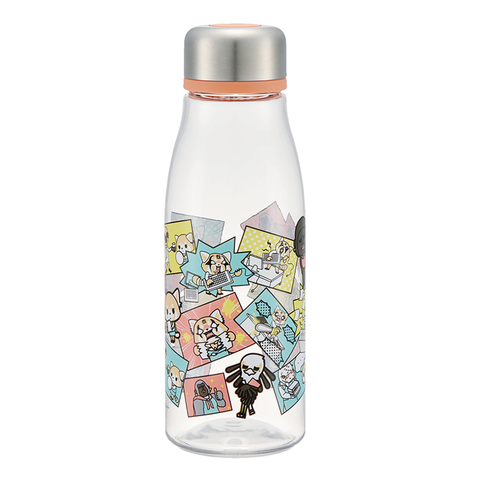 Aggretsuko Orange Water Bottle