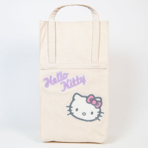 Hello Kitty Canvas Wine Bag