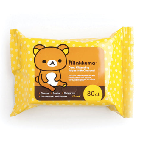 Rilakkuma Deep Cleansing Wipes