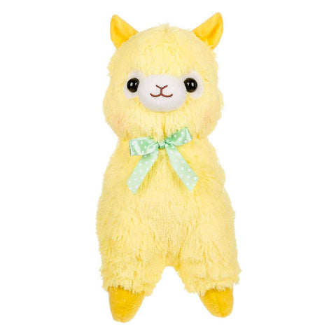 Yellow Alpacasso Medium Plush