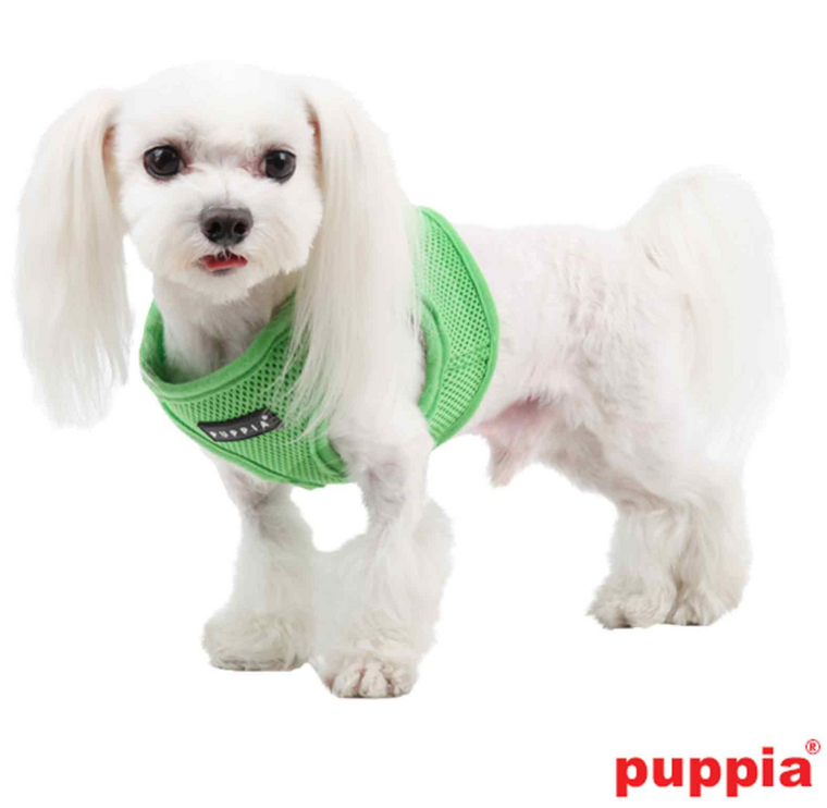 Puppia Soft Vest Green Harness
