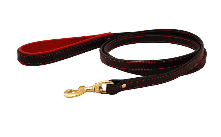 Leather Padded Lead