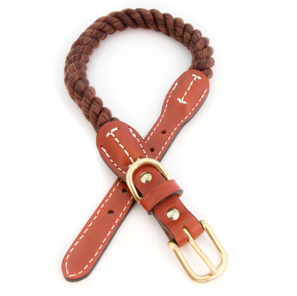 Auburn Leathercrafters Rope Collar