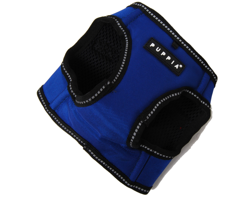 Puppia Blue Trek Dog Harness