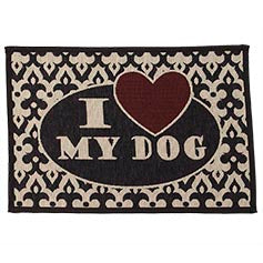 "Petrageous ""I Love My Cat"" Tapestry Placemat"