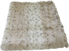 P4P Blankets Ivory Leopard