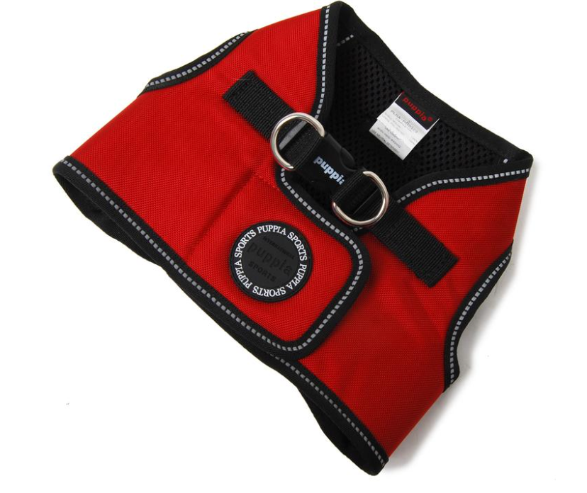 Puppia Red Trek Dog Harness