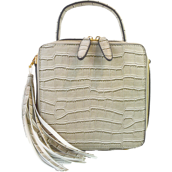 Jina Alligator Crossbody