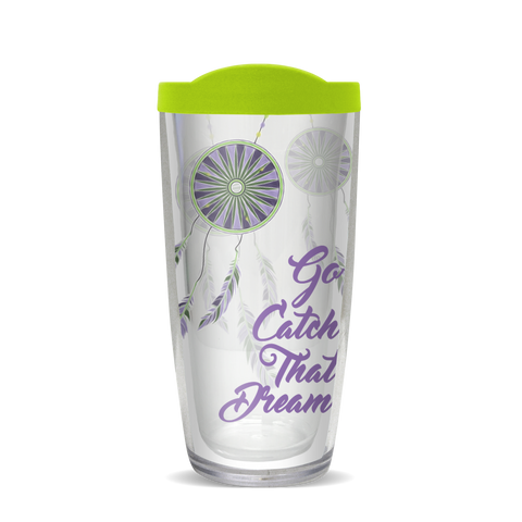 Insulated Tumbler- Go Catch That Dream